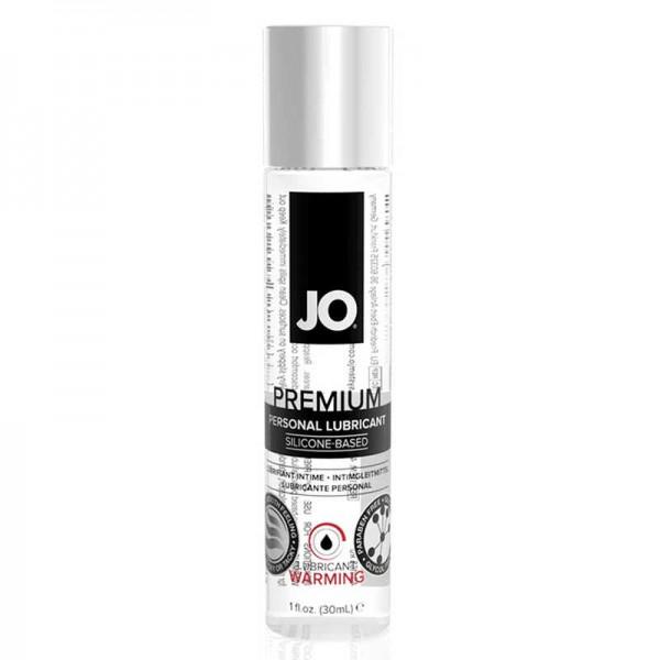 JO Классический возбуждающий лубрикант на силиконовой основе  Premium Warming 30мл.