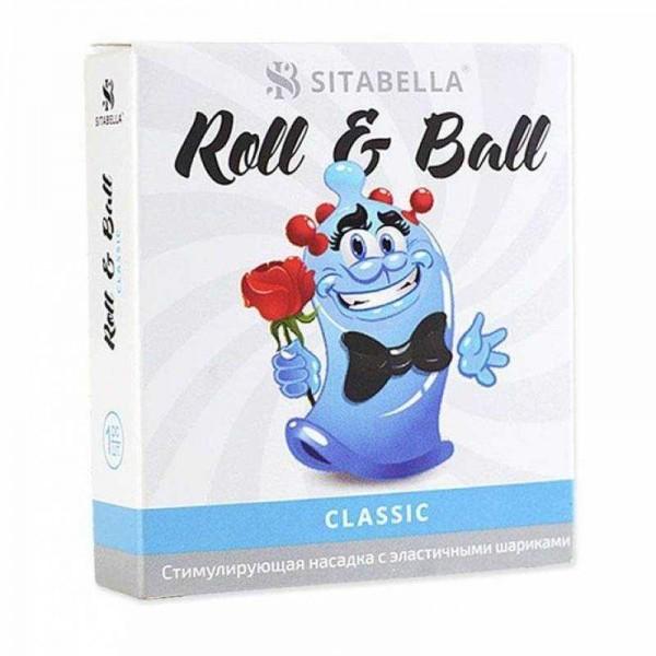 Насадка стимулирующая Sitabella Extender R&B Классика 4 шарика