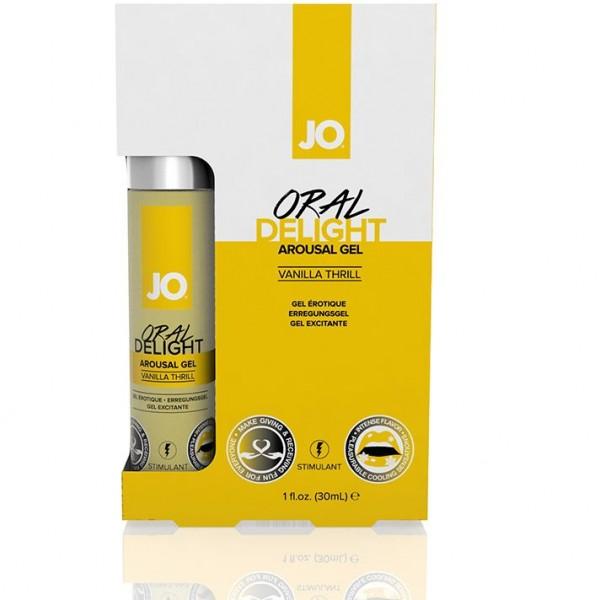 JO Стимулирующий гель для оральных ласк Ванильный Oral - Delight Vanilla 30 мл