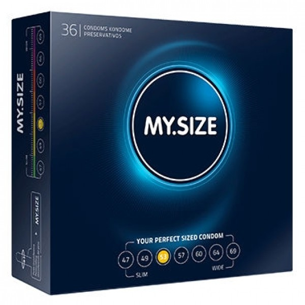 Презервативы MY.SIZE №3 (ширина 53mm)