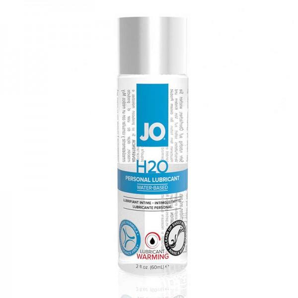 JO Классический возбуждающий лубрикант на водной основе H2O Warming 60 мл