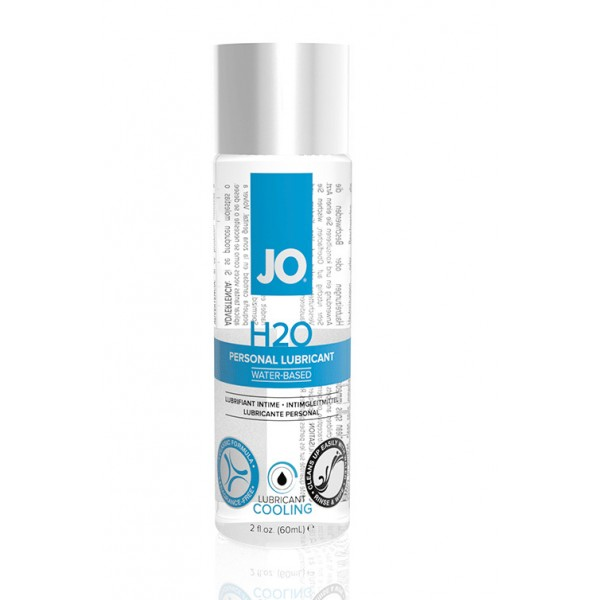 JO Классический охлождающий лубрикант на водной основе JO H2O COOL 60 мл.