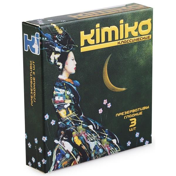 Презервативы  KIMIKO № 3 (классические) 3 шт.