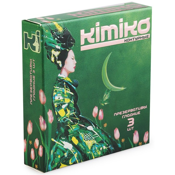 Презервативы  KIMIKO № 3 (контурные) 3 шт.