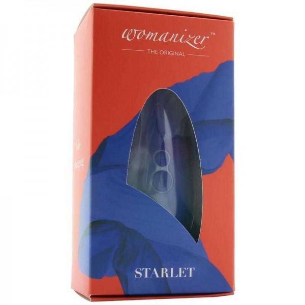 Womanizer Starlet 2 Бесконтактный клиторальный стимулятор синий