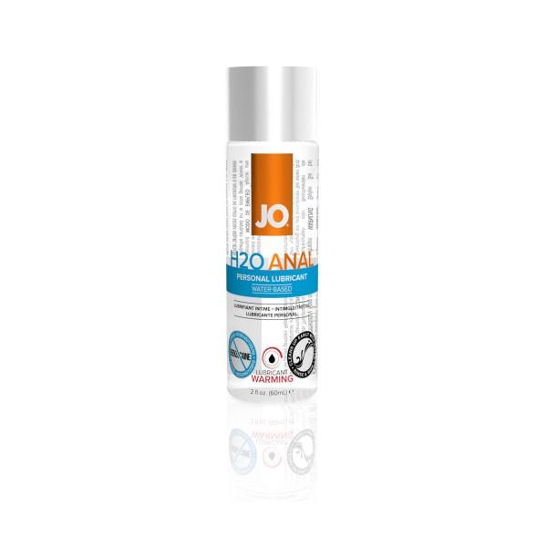 JO Анальный обезболивающий любрикант на вод.основе  Warming H2O 60 мл